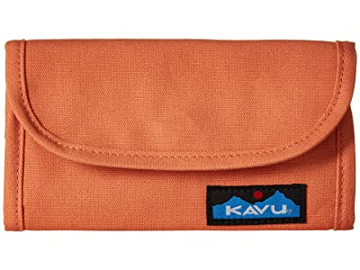 KAVU Big Spender (Peach) Wallet Handbags