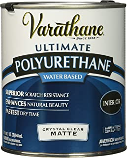 Rust-Oleum 262074 Ultimate Polyurethane Water Based, Quart, Matte