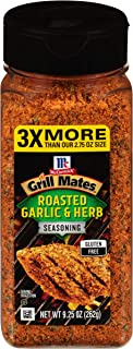 McCormick Grill Mates Roasted Garlic & Herb Seasoning, 9.25 oz