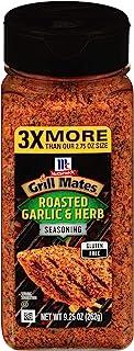 Best McCormick Grill Mates Roasted Garlic & Herb Seasoning, 9.25 oz Reviews