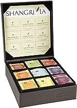 Shangri-La Tea Company Organic Luxury Teabag Collection, 81 Hot Tea Bags, 9 Different Flavors, Custom Gift Box