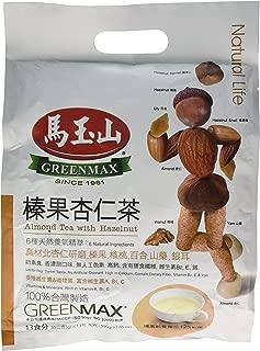 greenmax almond tea with hazelnut