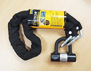 Ideal for Generator BIGLUFU Bike Lock Chain Heavy Duty Scooter Bicycle Motorcycle Motorbike Locks Security Chains Long Fences Gates Skateboards and Stroller