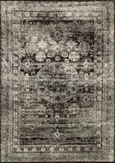 Loloi Transitional Rectangle Area Rug 13'x18' Granite Anastasia Collection