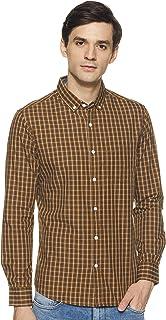 Amazon Brand - Symbol Men's Slim Fit Casual Shirts