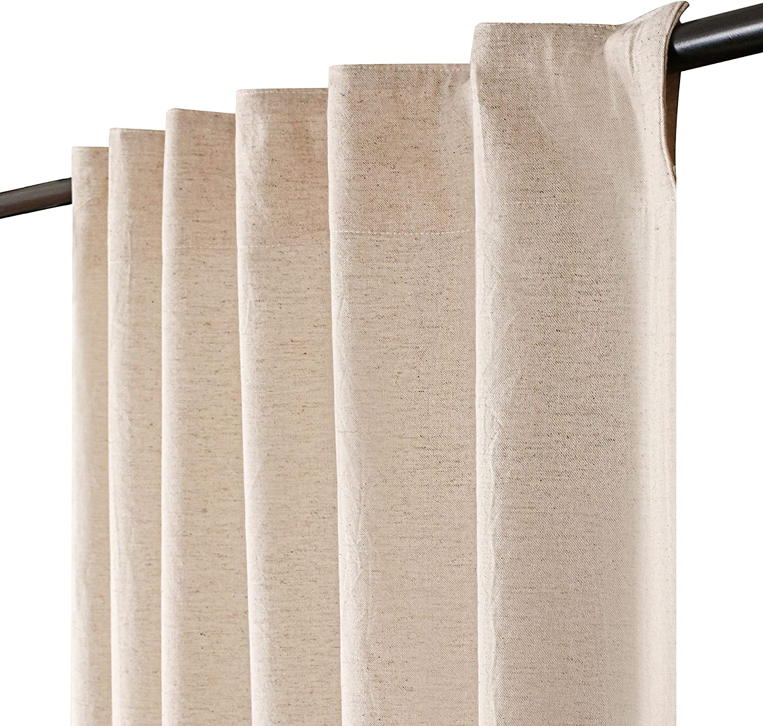 Window Panels Genuine Free Shipping Free shipping New Curtain 50x96 inch Natural 2 Farmhouse Cur of Set