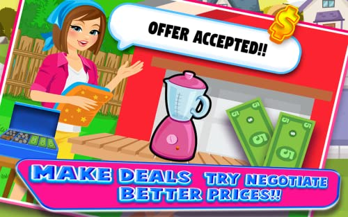 『Supermarket Yard Sale - Garage Sale Shoppers and Bargain Hunters FREE』の1枚目の画像