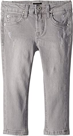 Jagger Slim Straight in Grey Cloud (Toddler/Little Kids/Big Kids)