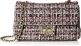 Karl Lagerfeld Paris Agyness Woven Shoulder Bag