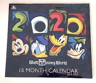 Walt Disney World 2020 18 Month Calendar