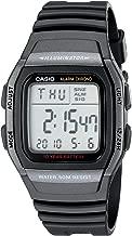 Casio Men's W96H-1BV Classic Sport Digital Black Watch