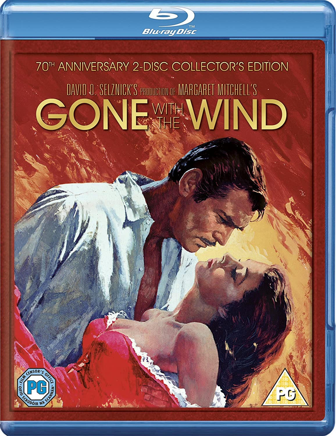 Gone With The Excellent Wind 1939 Region Free Blu-ray Super intense SALE
