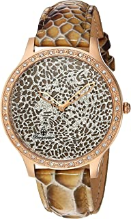 Burgmeister Women's BM805-395 Analog Display Quartz Brown Watch