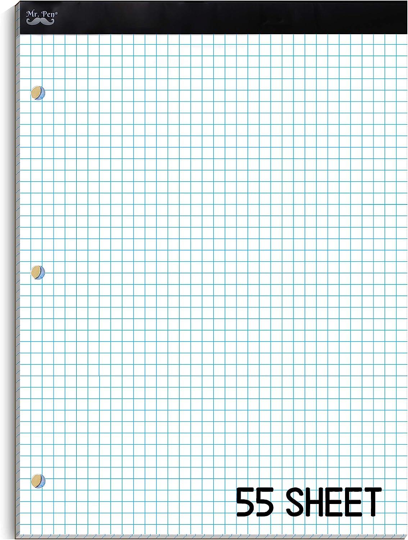 Mr. Pen- Graph Paper Max 82% OFF Grid Pad Squares Austin Mall 4 per 4x4 inch