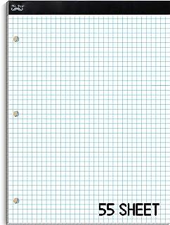 """Mr. Pen- Graph Paper, Grid Paper, 4x4 (4 Squares per inch), 8.5""""x11"""", 55 Sheets, Graph Paper Pad, Grid Paper Pad, Graphing..."""