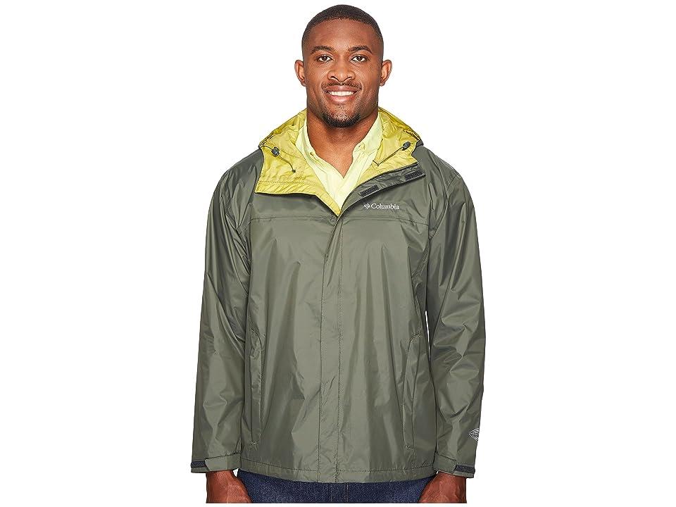 Columbia Big Tall Watertighttm II Jacket (Gravel/Peppercorn) Men