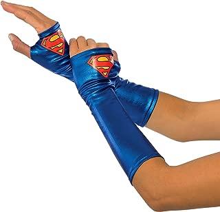 Rubie's Women's DC Superheroes Supergirl Gauntlets, Multi, One Size