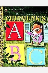 Richard Scarry's Chipmunk's ABC (Little Golden Book) Kindle Edition