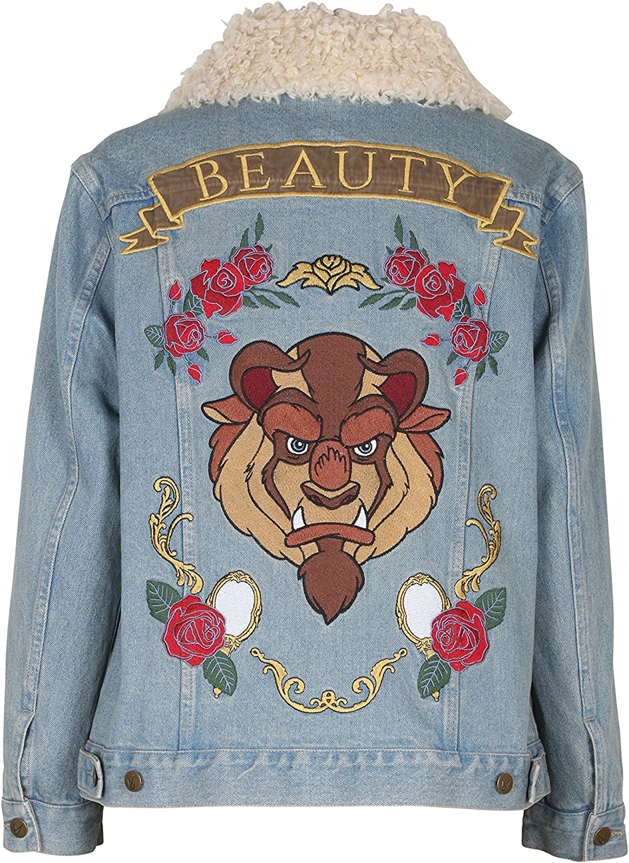 MINKPINK Women's Baroque-n Beauty Applique Removable Fur Jacket