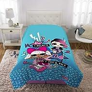 "L.O.L. Surprise! Kids Bedding Super Soft Microfiber Reversible Comforter, Twin/Full 72"" x 86"",..."