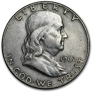 1962 D Franklin Half Dollar Fine/AU Half Dollar Fine