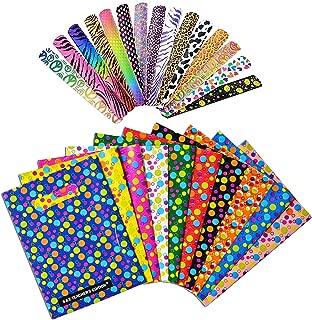 S & E TEACHER'S EDITION Party Favor Set of 100Pcs, 50Pcs Party Favor Bags & 50Pcs Slap Bracelets, Assorted Colors.