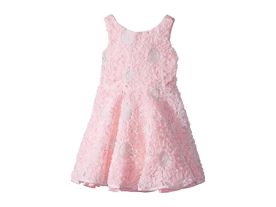 fiveloaves twofish Tea Party Dress (Toddler/Little Kids) (Pink) Girl