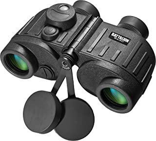 BARSKA Battalion Waterproof Military Binoculars with Rangefinder