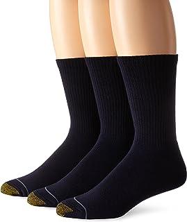 Gold Toe mens Uptown Crew Socks, 3 Pairs Uptown Crew Socks, 3 Pairs (pack of 3)