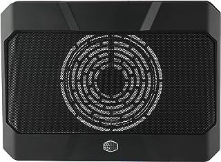 Cooler Master NotePal X150R, Almohadilla de enfriamiento para Notebook, USB, 160 mm, Negro