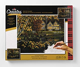 Plaid Creates Autumn Reflections Paint by Number Kit 16