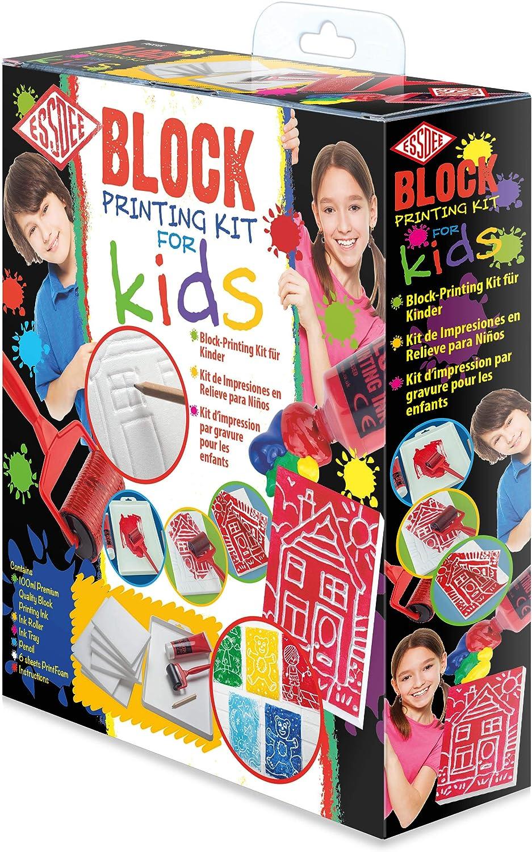 Block Printing Kit Rainbow