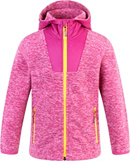 Summit Glory Kids Zip Microfleece Hoodie JacketII