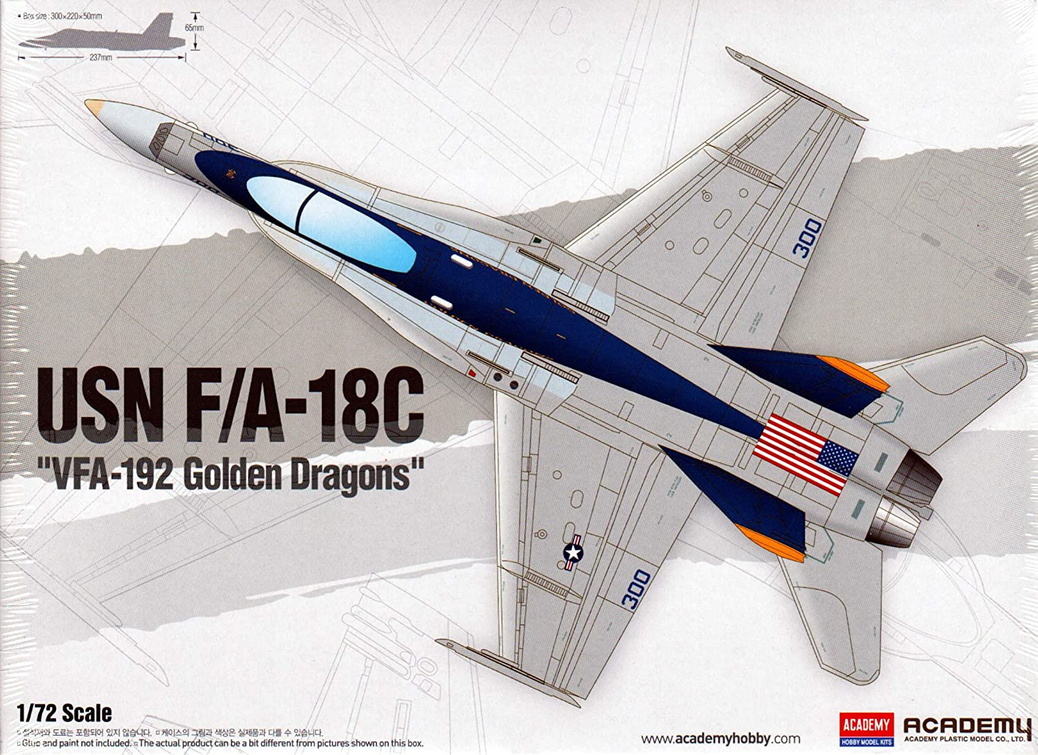 1 72 Scale USN F A  18C VFA192 golden Dragons 12564