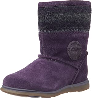 Clarks Girl's Snugglehug FST First Walking Shoes