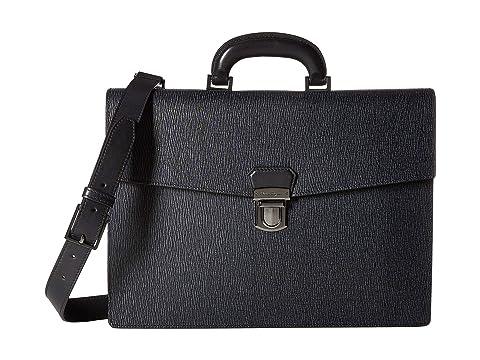 Salvatore Ferragamo Revival 3.0 Single Gusset Briefcase - 24A050
