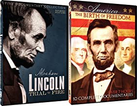 President Lincoln / Trial By Fire / Civil War / Birth of Freedom / Thomas Jefferson / Revolution / American History Documentary 2-Pack
