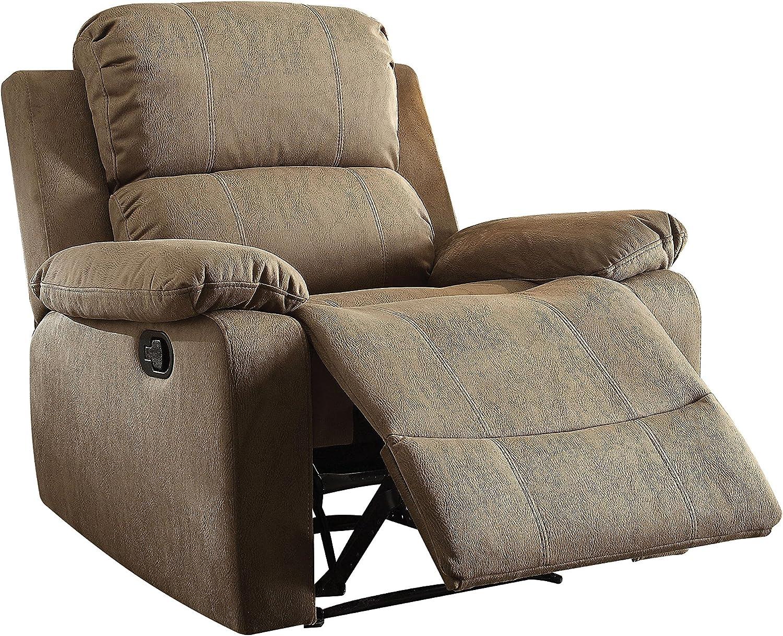 ACME Furniture Acme 59527 Bina 本物◆ Recliner Size ☆正規品新品未使用品 Tan One