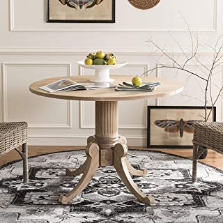 Safavieh Home Collection Forest Drop Leaf Dining Table, Rustic Natural