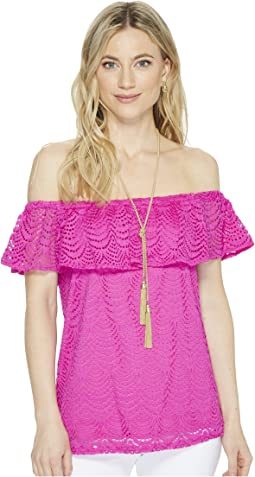 Lilly Pulitzer - La Fortuna Lace Top