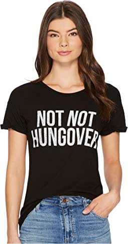The Original Retro Brand - Not Not Hungover Rolled Short Sleeve Slub Tee