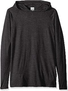 SOFFE Men's Tri-Blend Raglan Hoodie Hooded Sweatshirt