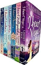 I Heart series lindsey kelk 6 books collection set (hollywood, vegas, new york, paris, london, forever)