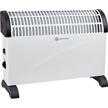Duronic HV120 Convector Calefactor Bajo Consumo con Funci/ón Turbo y 3 Niveles de Potencia