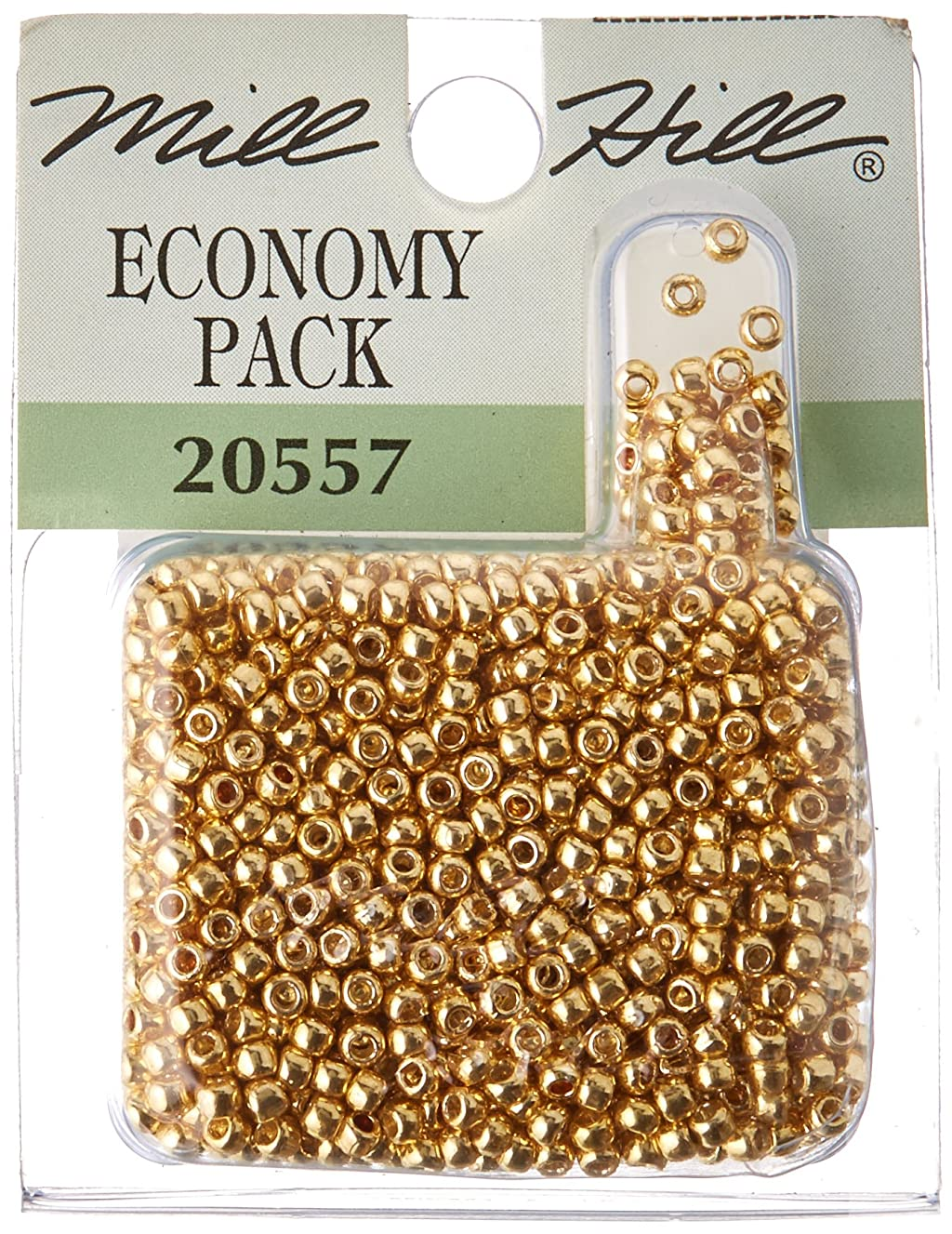 Mill Hill Glass Seed Beads Economy Pack, Gold