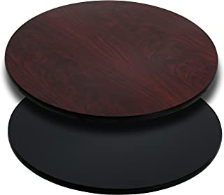 Best 36 inch round wood table top Reviews