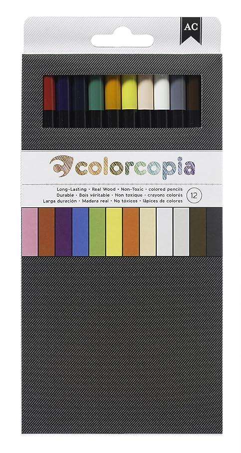 American Crafts 12-Piece Colored Pencil Set