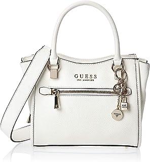 Guess Womens Satchels Bag, White - VG767005