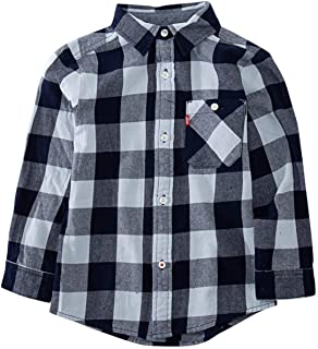 Levi's Big Boys' Cunningham One Pocket Woven Top