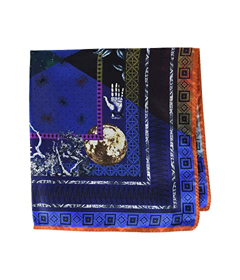 Etro Alchemy Print Pocket Square